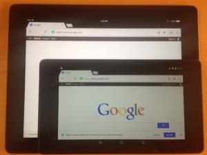 iPad vs. Nexus