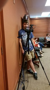 Isaac the camera man.