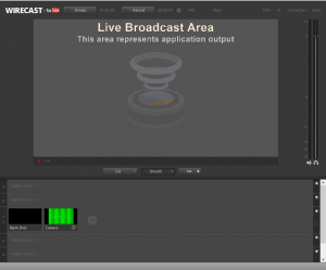 Wirecast Interface